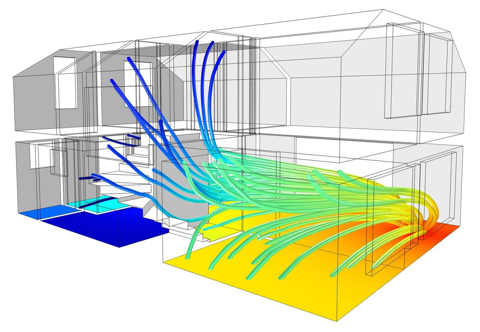 Analisi acustica casa in legno