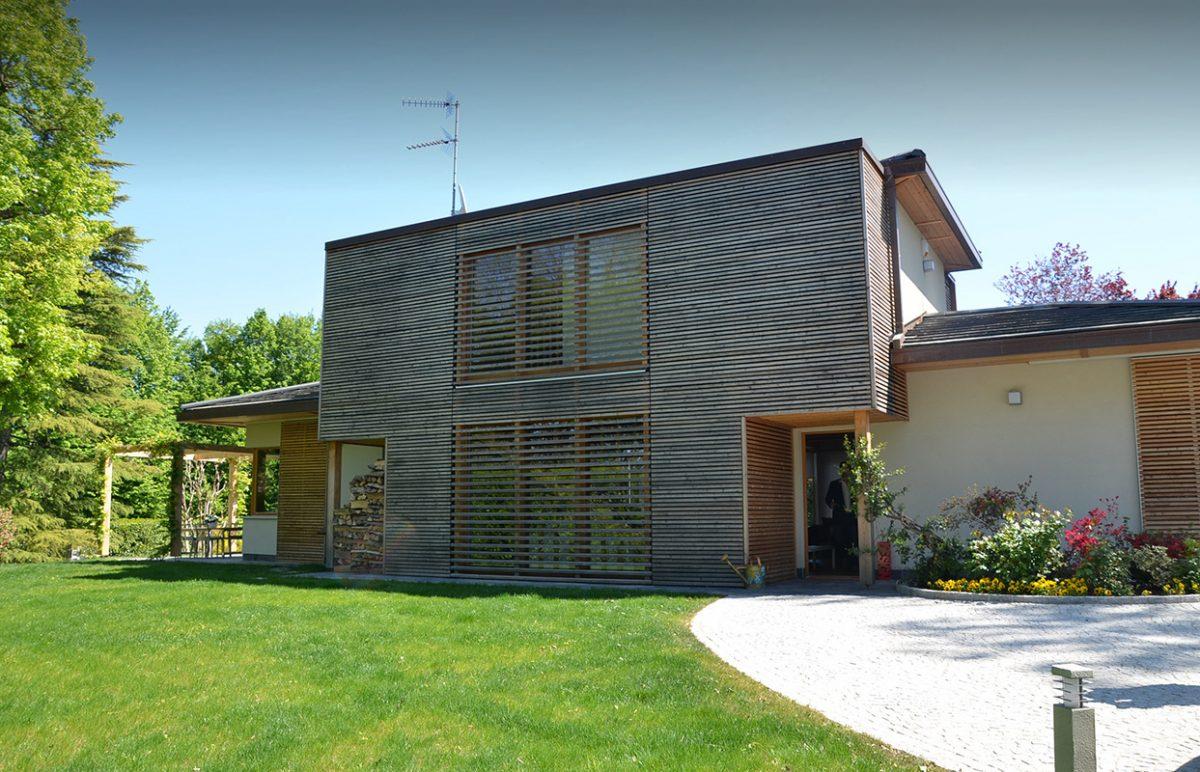 Retro casa in legno