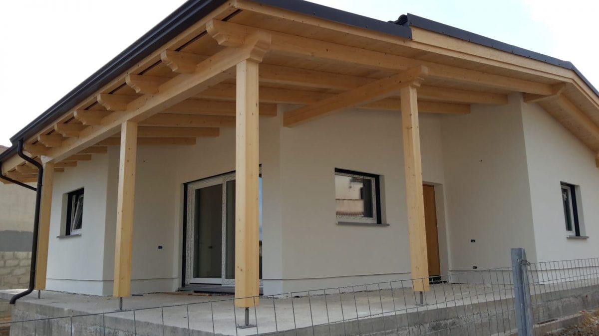 Casa in legno a Cagliari